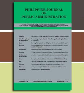public administration journal articles pdf