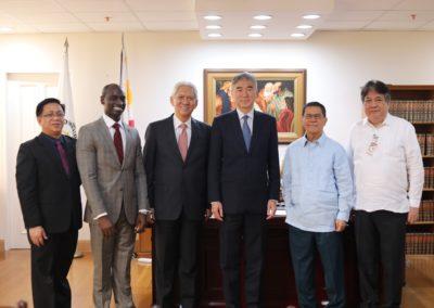 US Ambassador courtesy visit