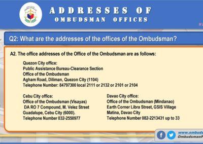 OMB Clearance Application FAQ Q2