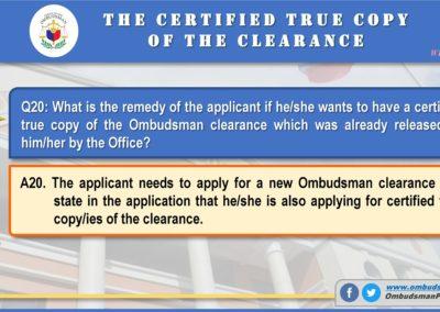 OMB Clearance Application FAQ Q20