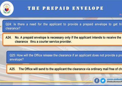 OMB Clearance Application FAQ Q24-Q25