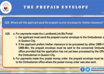 OMB Clearance Application FAQ Q26