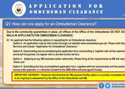 OMB Clearance Application FAQ Q1