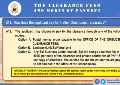 OMB Clearance Application FAQ Q12