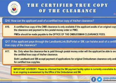 OMB Clearance Application FAQ Q16-Q17