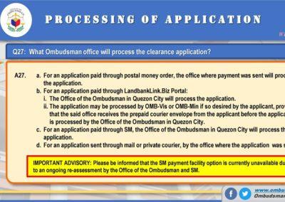 OMB Clearance Application FAQ Q27