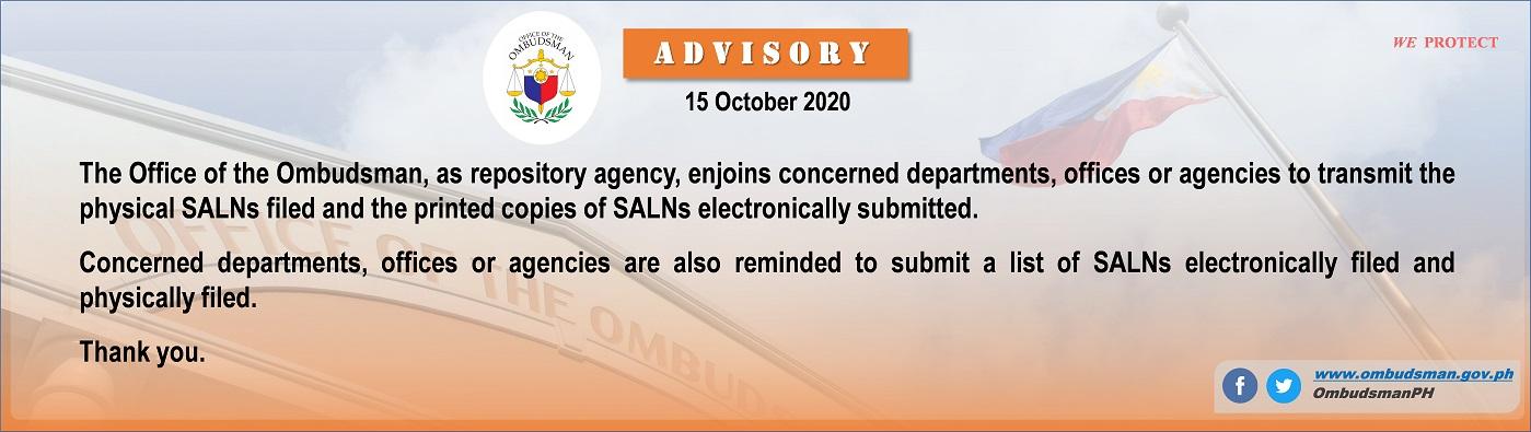 OMB-SALN advisory-15 October 2020 – website -1399x395