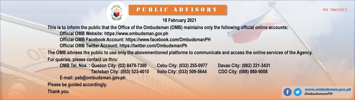 OMB website-official-socmed-18Feb2021